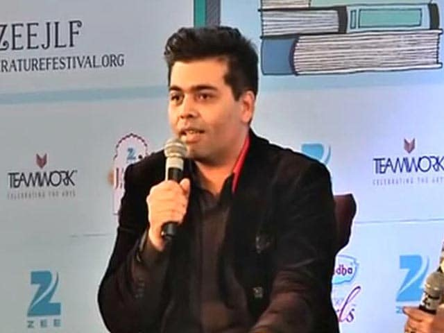 Video : Freedom of Expression is the Biggest Joke: Karan Johar