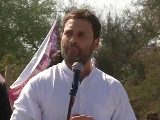 Video : PM Has Forgotten Farmers: Rahul Gandhi In Bundelkhand