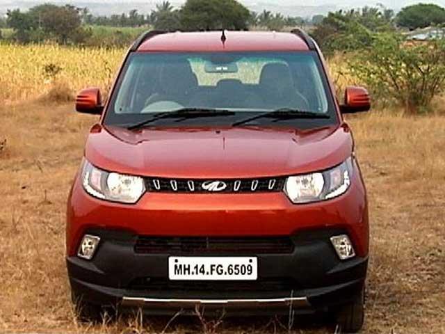 Video : First Look: Mahindra KUV100