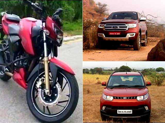 Video : New Generation Ford Endeavour, First Look At KUV100 & TVS Apache RTR200 Review