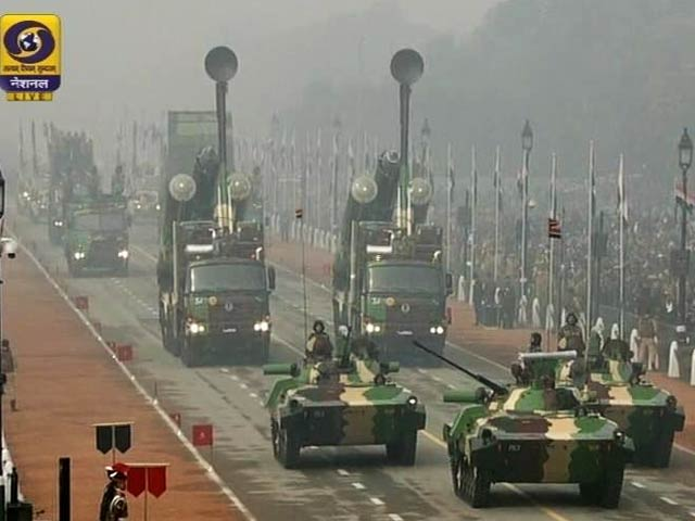 Video : India's Military Might On Display On 67th Republic Day