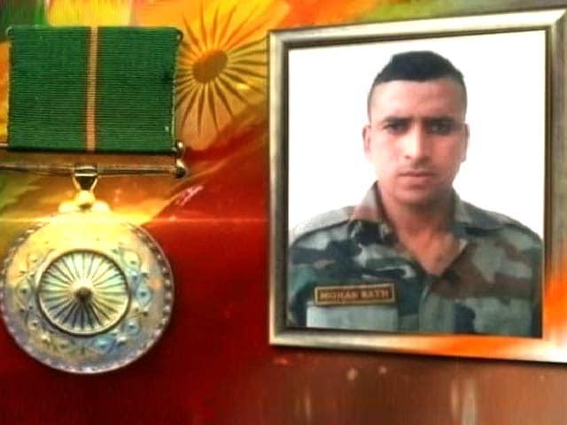 Video : Braveheart Honoured For Killing 10 Terrorists In 11 Days