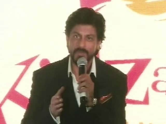 Shah Rukh Has Some Advice for Children