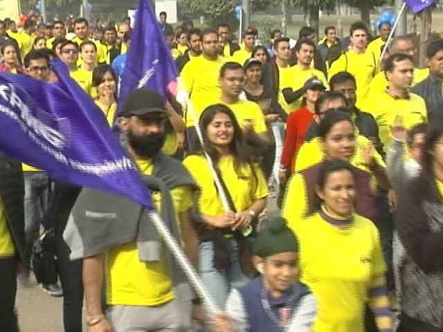 Video : Thousands Participate In 'Walk for Life' To Support Fight Against Cancer