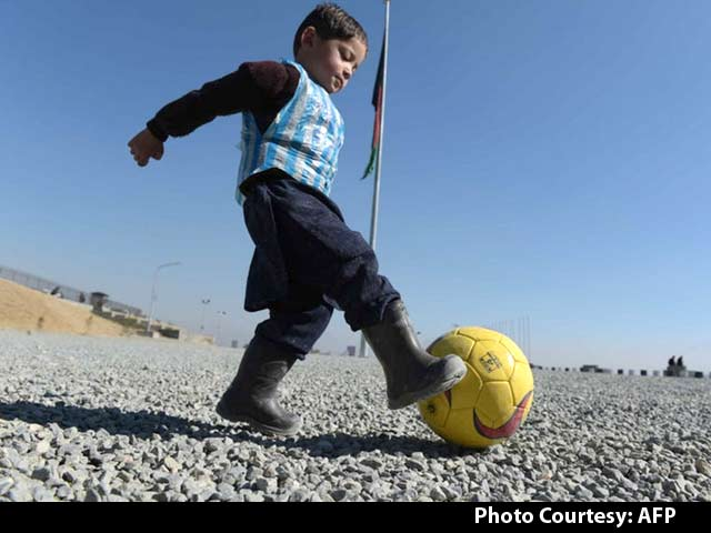 Video : Afghanistan's 'Little Lionel Messi' Longs to Meet His Hero