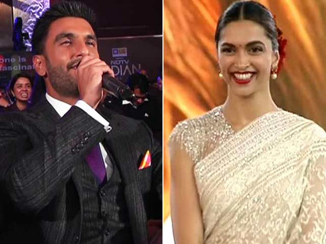 Ranveer Croons for Deepika, Talks Of 'Looking into Her Eyes'