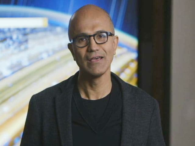 Video : People of India Have A Tremendous Opportunity Ahead, Says Satya Nadella