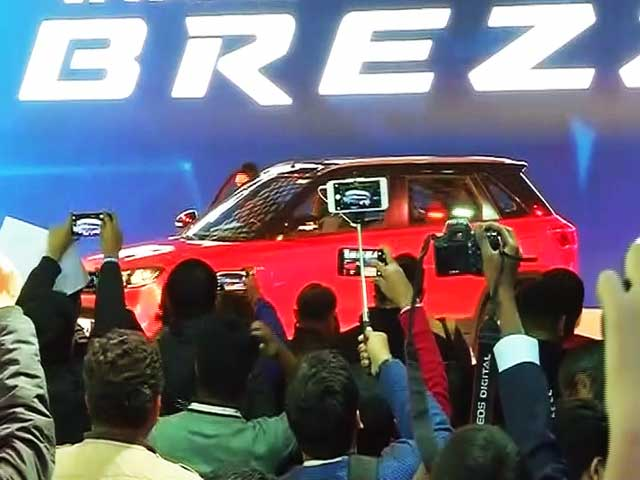 Maruti Suzuki India Pulls Cover Off the Much Awaited Vitara Brezza SUV
