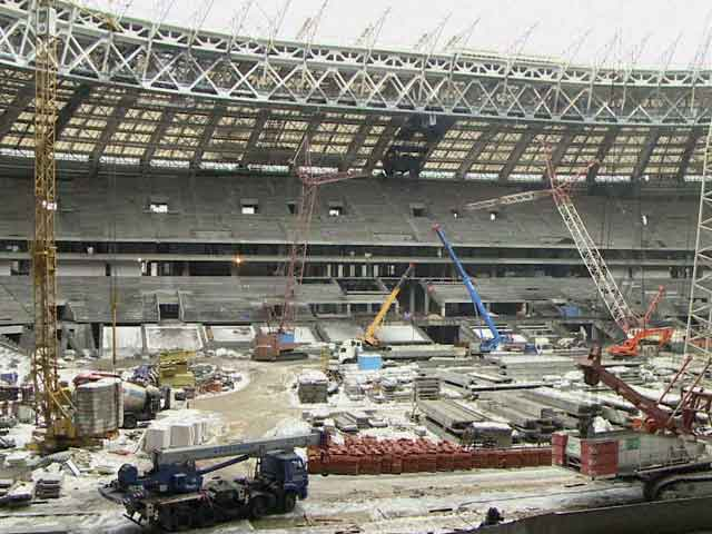 Video : Moscow FIFA World Cup Venue 'Ahead of Schedule'