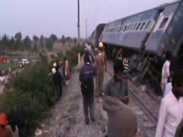 Video : 4 Coaches Of Island Express Derail In Tamil Nadu's Vellore District