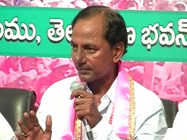 Video : Telangana's Ruling TRS Sweeps Battle For Hyderabad