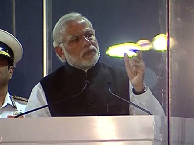 Video : Oceans Critical For Energy Security: PM Modi At Fleet Review