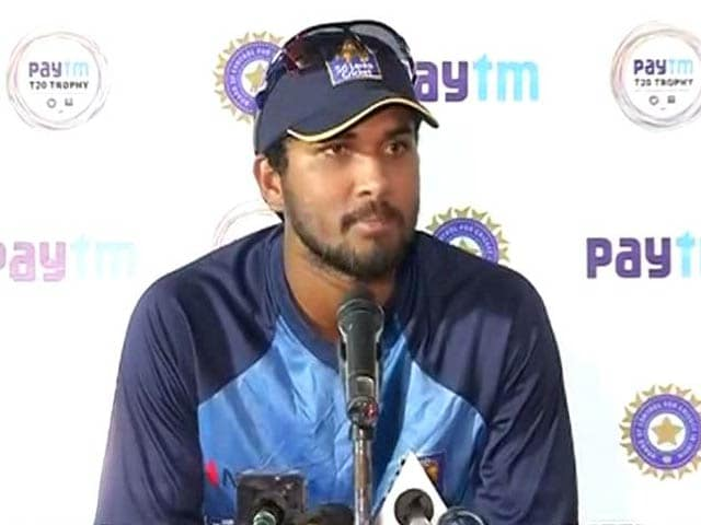 Playing in India is Always Challenging: Dinesh Chandimal