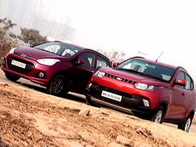 Video : Mahindra KUV100 Versus Hyundai Grand i10
