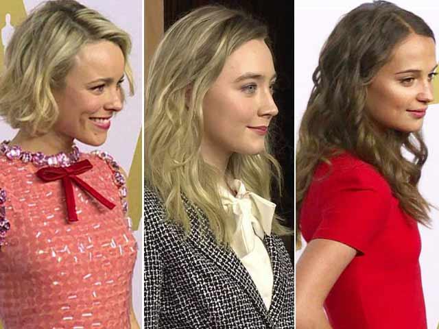 Oscar Luncheon: Best Actress Nominees Honoured