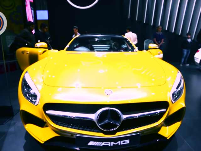 Video : Mercedes Benz Showcases Upcoming Models at 13th Auto Expo