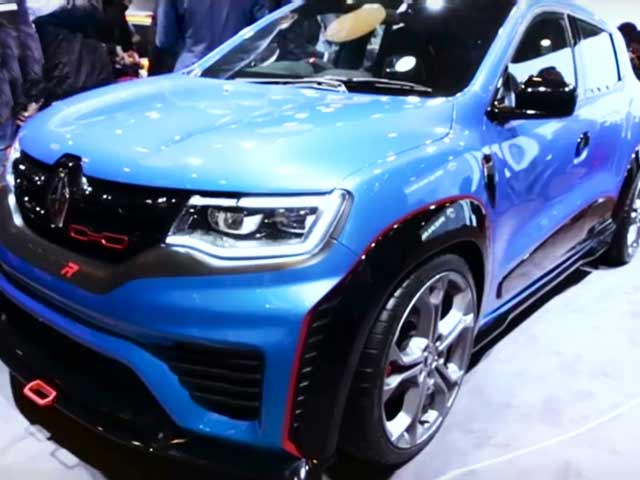 Renault Duster Facelift and Kwid Variants Show Up at 2016 Auto Expo