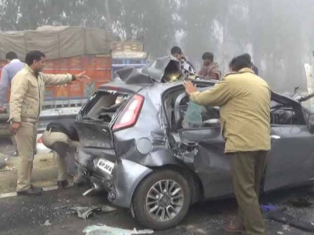 Video : 30-Car Pile-Up On Haryana Highway Due To Fog