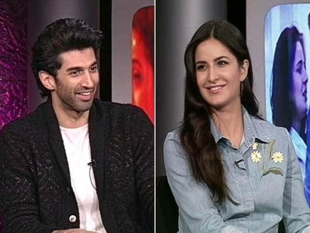 Aditya, Katrina on Fitoor's Noor and Firdaaus