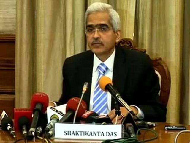 Video : Decline in Rupee, Stocks Not Exceptional: Shaktikanta Das