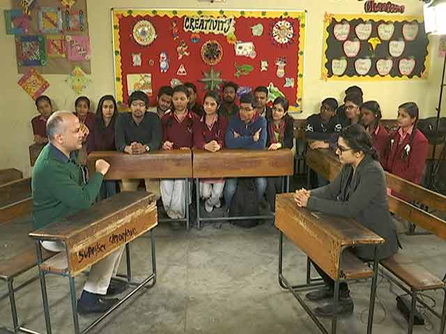 Video : Corruption, Policies, Pay Hike: Manish Sisodia Faces Bouncers From Children
