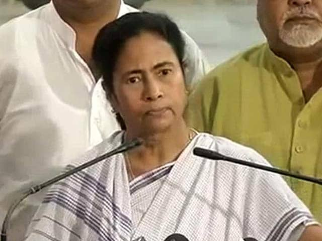 Video : On Congress-CPM Alliance In Bengal, Mamata Banerjee Talks 'Principles'