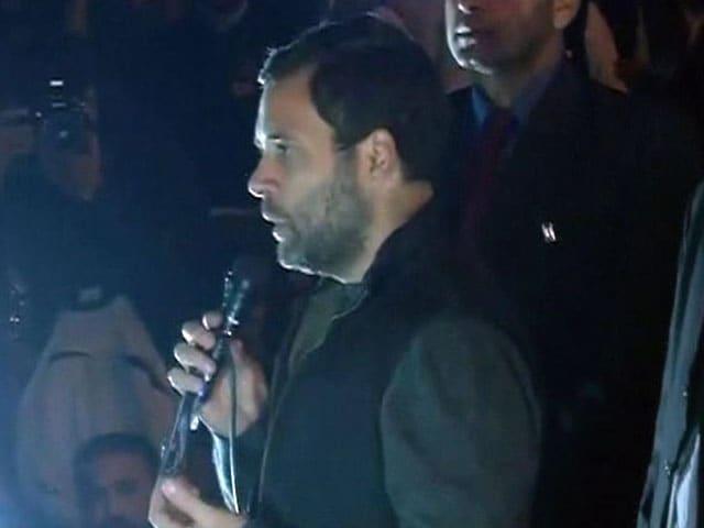 Video : जो आपकी आवाज दबाना चाहते हैं वे असली देशद्रोही हैं : JNU में राहुल गांधी