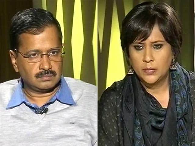 Video : Arvind Kejriwal Says Just Hearing My Name Enrages PM Modi
