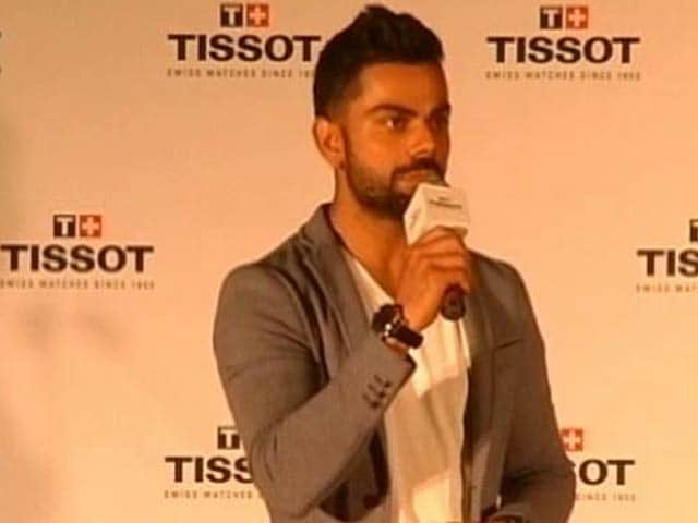 Video : How Virat Kohli Handles Personal Questions