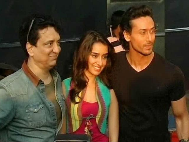 Video : Tiger, Shraddha Dodge Questions Baaghi-Style