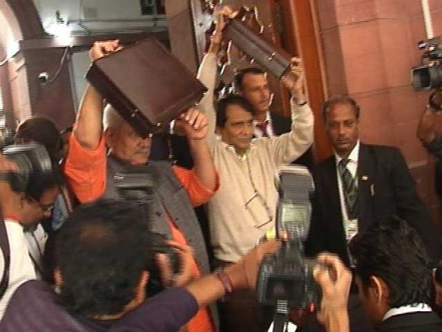 Video : Suresh Prabhu's Railway Budget Today: Will He, Won't He?