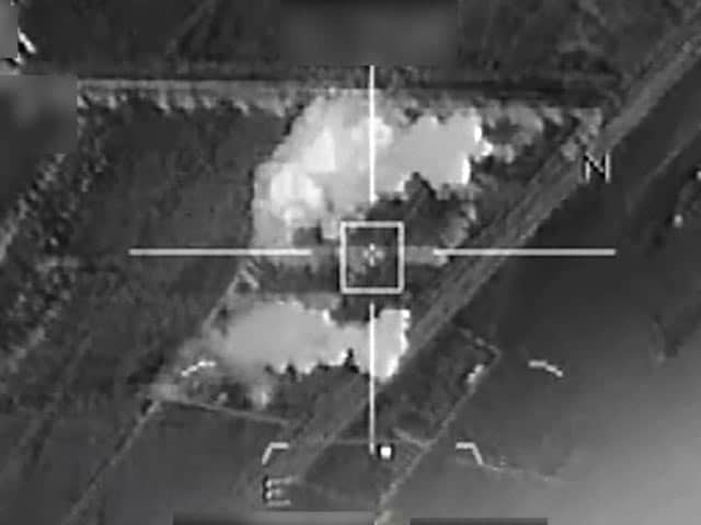 Video : French Army Releases Footage Of Airstrikes 'Against ISIS Group'