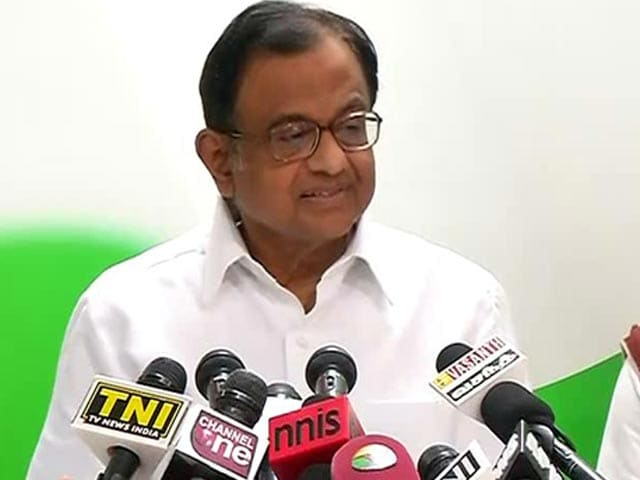 Video : Ishrat Case: 'Vindicated,' Says Chidambaram As Report Claims Witness Tutored
