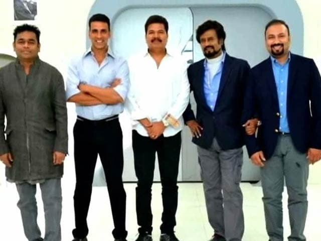 More About Akshay-Rajinikanth's 2.o