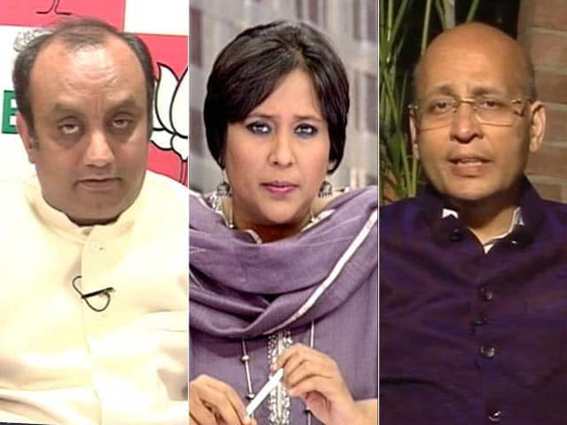Video : 'Chidambaram Acted On Gandhis' Orders To Fix Modi': Ishrat Haunts Congress