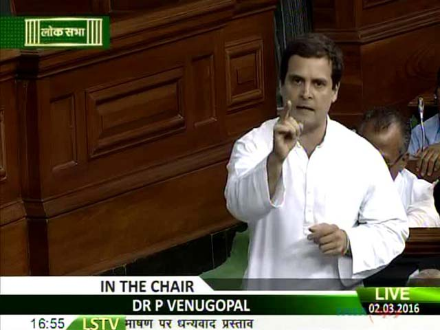 Video : 'I'm Not From RSS, I Make Mistakes': Rahul Gandhi In Parliament
