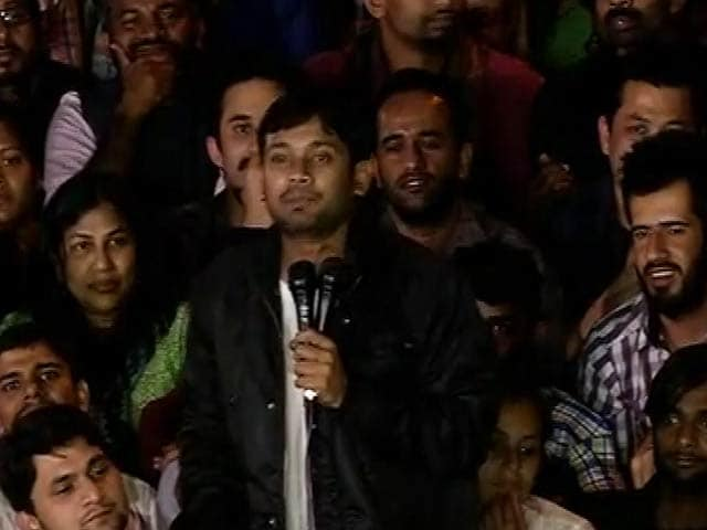 Video : Kanhaiya Kumar Attacks PM Modi In Speech On JNU Campus