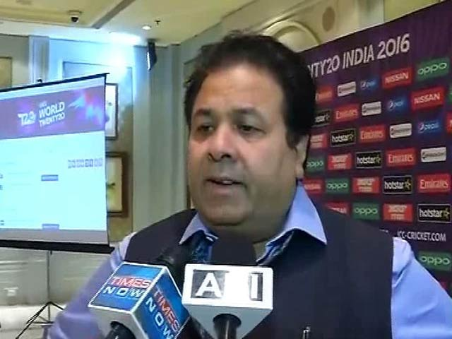 Video : Pak Will Get Full Security in WT20, It's Their Call Now: Shukla