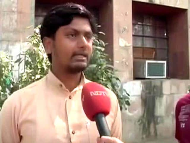 Video : How BJP Student Wing Reacted To Kanhaiya Kumar, Who Trended Worldwide