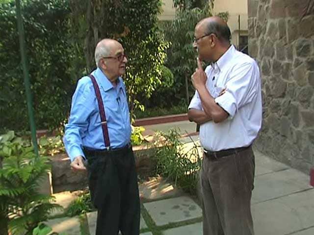 Video : Walk The Talk With Top Jurist Fali Nariman