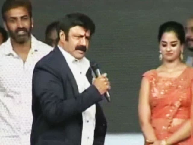 Video : 'Must Kiss Or Make Them Pregnant': Row Over Telugu Actor's Comments