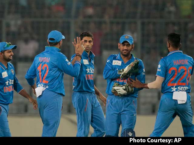 Video : ICC World T20: India's Death Bowling Sorted, Says MS Dhoni