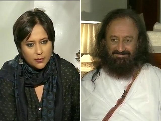 Video : We Will Go To Jail But Not Pay Any Fine: Sri Sri Ravi Shankar to NDTV