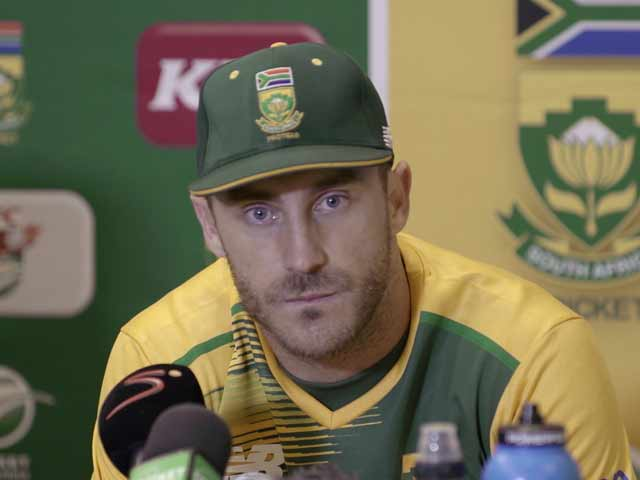 Video : SA Captain Du Plessis Seeks Form, Consistency Ahead of T20 World Cup