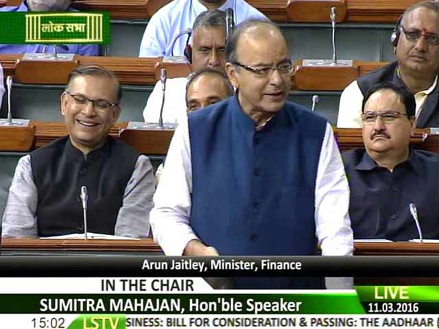 Video : As Aadhaar Bill Is Passed In Lok Sabha, Opposition Alleges Dirty Trick