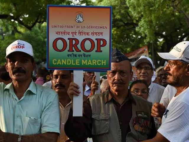 Video : OROP Activist Arrested For Alleged Financial Irregularities In Welfare Organisation