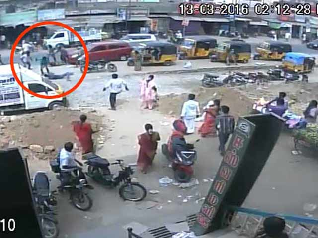 Video : Brutal Attack On Couple In Tamil Nadu Caught On Camera
