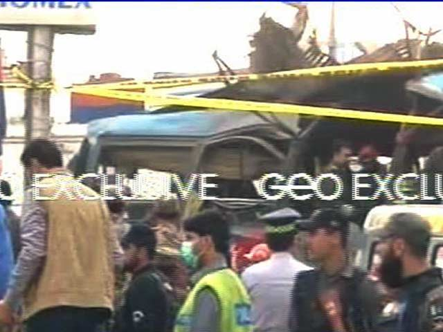 Video : At Least 16 Killed, 24 Injured In Bus Blast In Pakistan's Peshawar