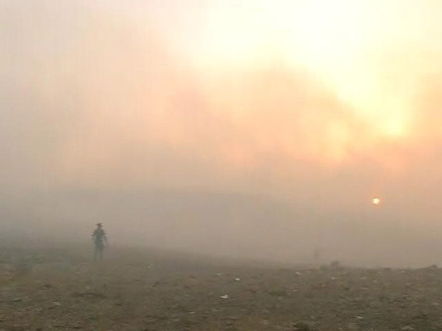 Video : Fire At Mumbai's Deonar Doused, Sabotage Suspected By Civic Body