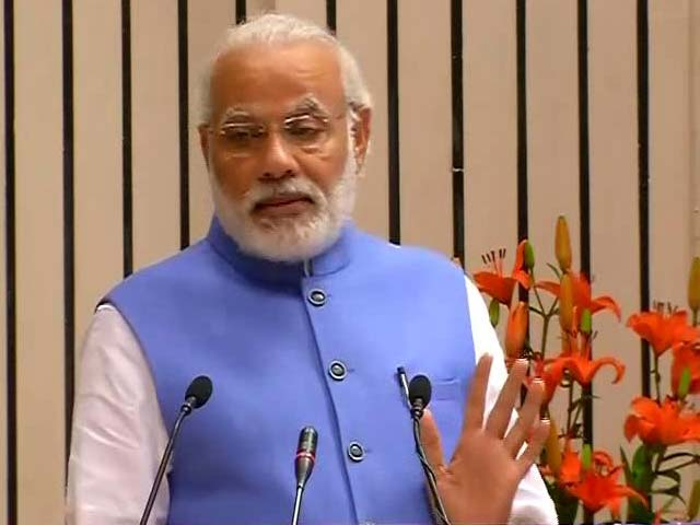 Video : PM Modi Compares Dr Ambedkar To Martin Luther King, Mandela